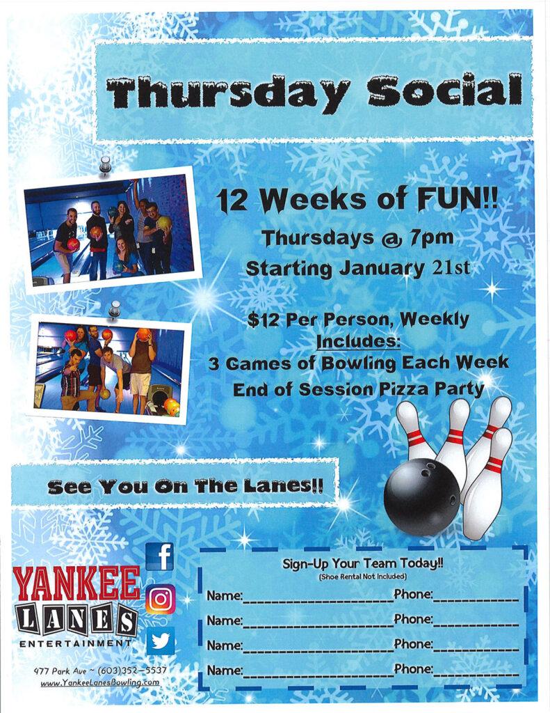 Thursday Social League
